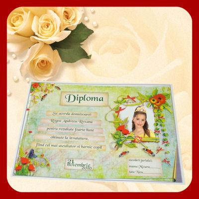 Diploma Pentru Cea Mai Buna Bunica