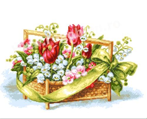 Panier de printemps
