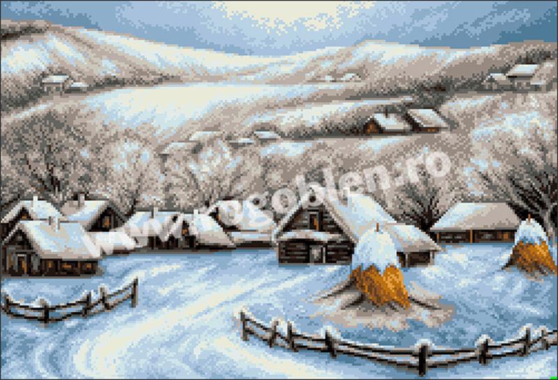 Snowy Vllage