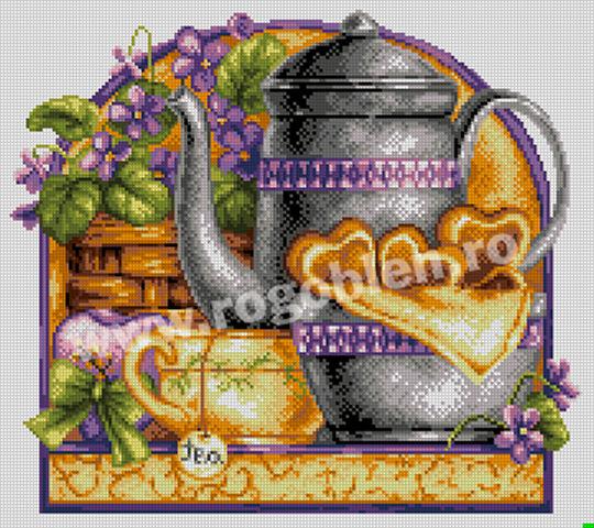 Invitation à thé