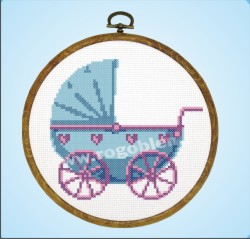 Stroller for a Baby Boy