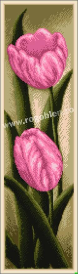 Duet, lalele roz