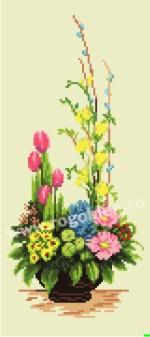 Ikebana de la primavera