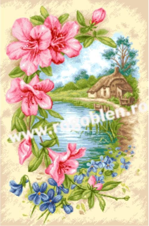 Цветя и ландшафт