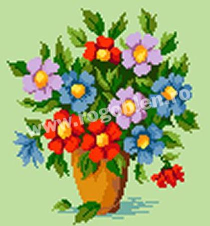 Pot au anemones