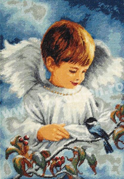 L`ange de l`hiver