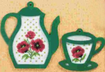 Tea with Poppies