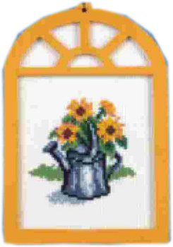 Window with Sunflower