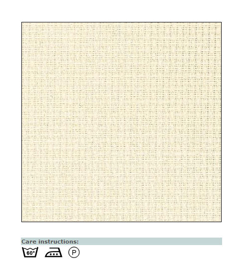 Aida canvas light beige
