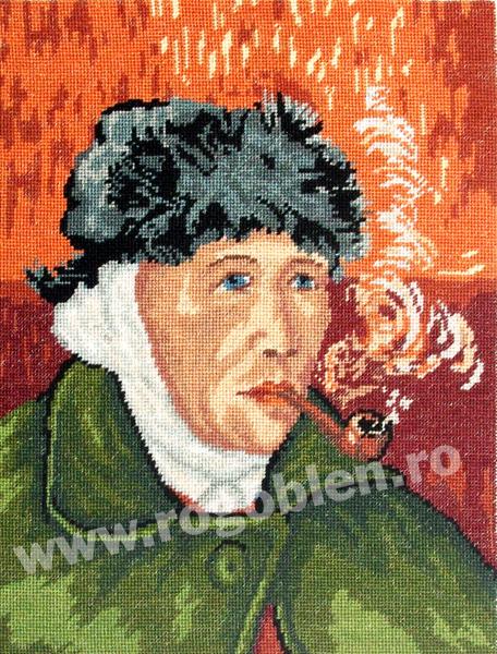 Autoportret   dupa Van Gogh