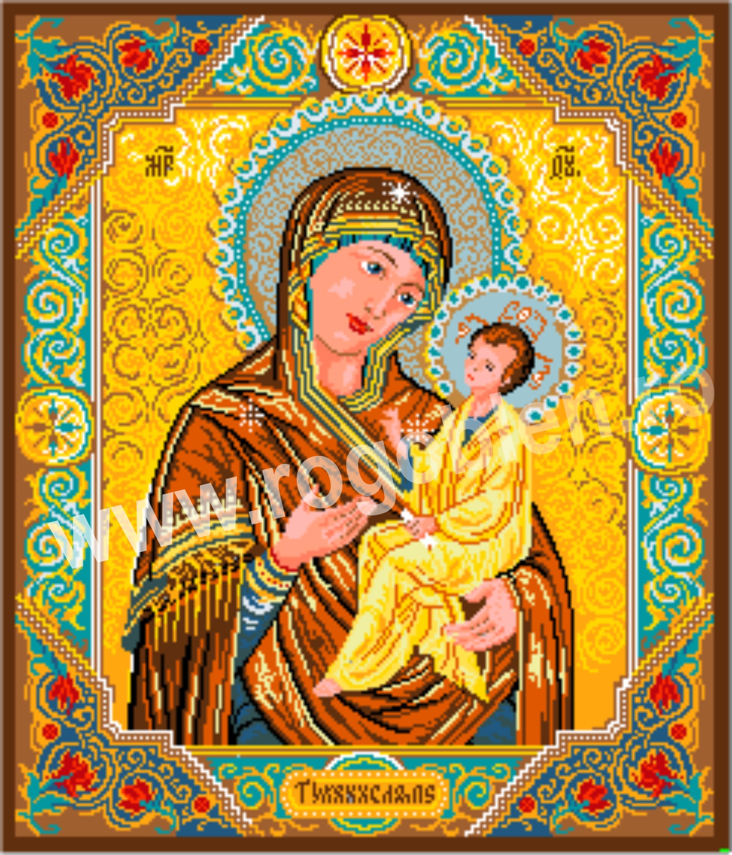 Icone avec madone et enfant