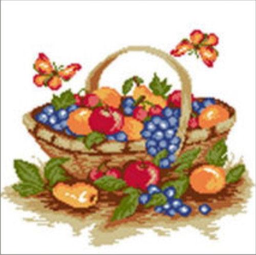 Panier avec fruits