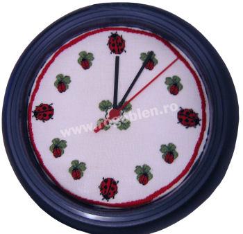 Clock with Ladybugs