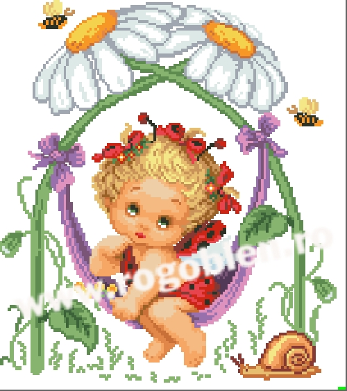 Daisies Cradle