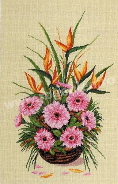 Ikebana con strelitzia