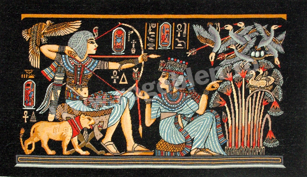 Tapisserie egyptienne
