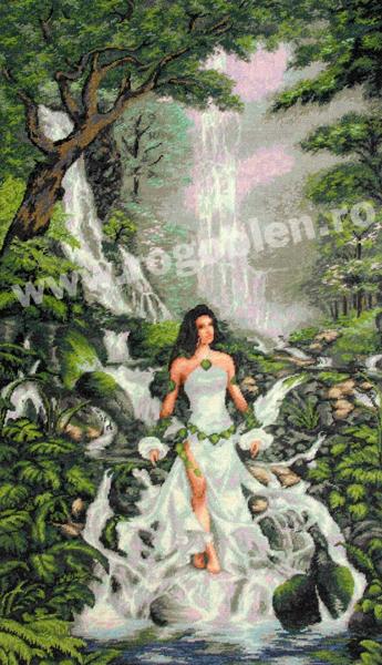 La magia della cascata