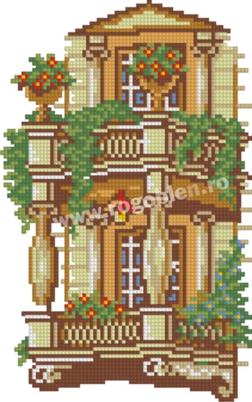 Mon balcon, automne