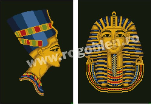Nefertiti And Tutankhamon