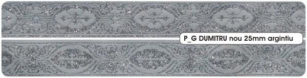 Galon Ribbon Dumitru silver