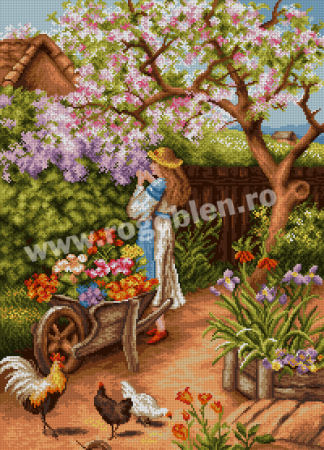 Spring in the Farmyard
