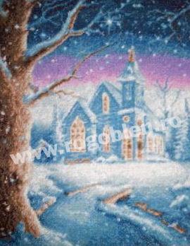 Chiesa blue
