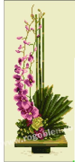 Bambus si orhidee