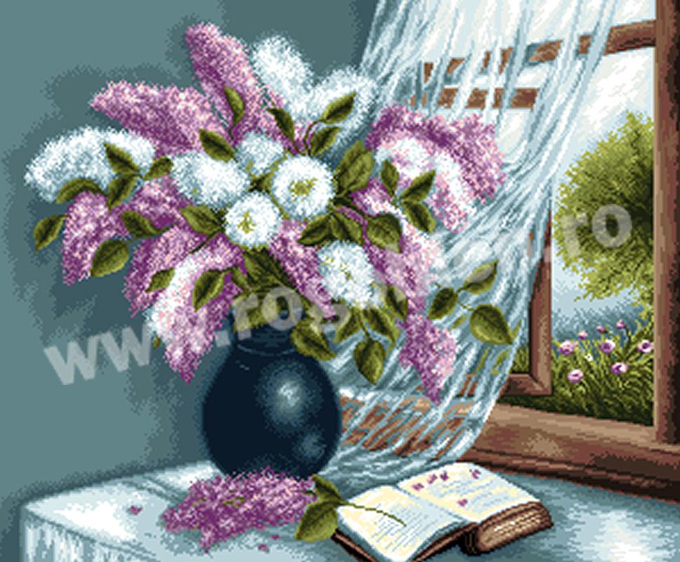 Racconto di fiori di lilla