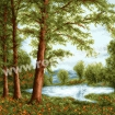 Goblen - Oglinda padurii