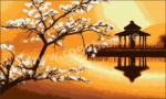Goblen - Templul sakurei