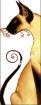 Goblen - Felina in alb