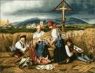 Goblen - Troita din lan