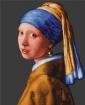 Goblen - Fata cu cercel de perla