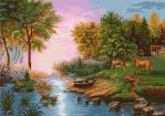 Goblen - Peisaj de vara