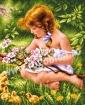 Goblen - Histoire des fleurs des cerises