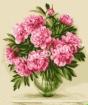 Goblen - Pivoines roses