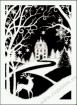 Goblen - Iarna dantelata