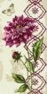 Goblen - Fleur de dahlia pourpre