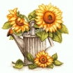 Goblen - Watering Can with Sunflowers