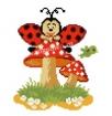 Goblen - Fungo di coccinella