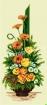 Goblen - Ikebana with Gerbera Daisies