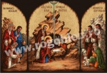 Goblen - Glory to Jesus Child - Triptych