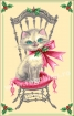 Goblen - Craciunul pisicutei