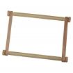 Goblen - Gherghef de lemn cu clips de plastic