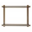 Goblen - Gherghef de lemn cu prindere panza
