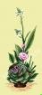Goblen - Ikebana cu ornitogalum