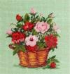 Goblen - Cos cu roze