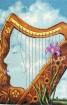 Goblen - Femeia harpa