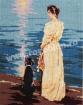 Goblen - Lady and Dog on the Seashore