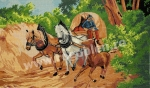 Goblen - Course de chevaux